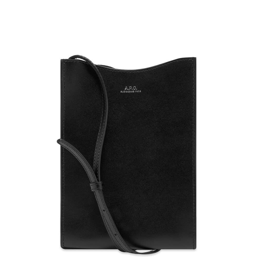 A.p.c. A.P.C. Jamie Leather Neck Pouch