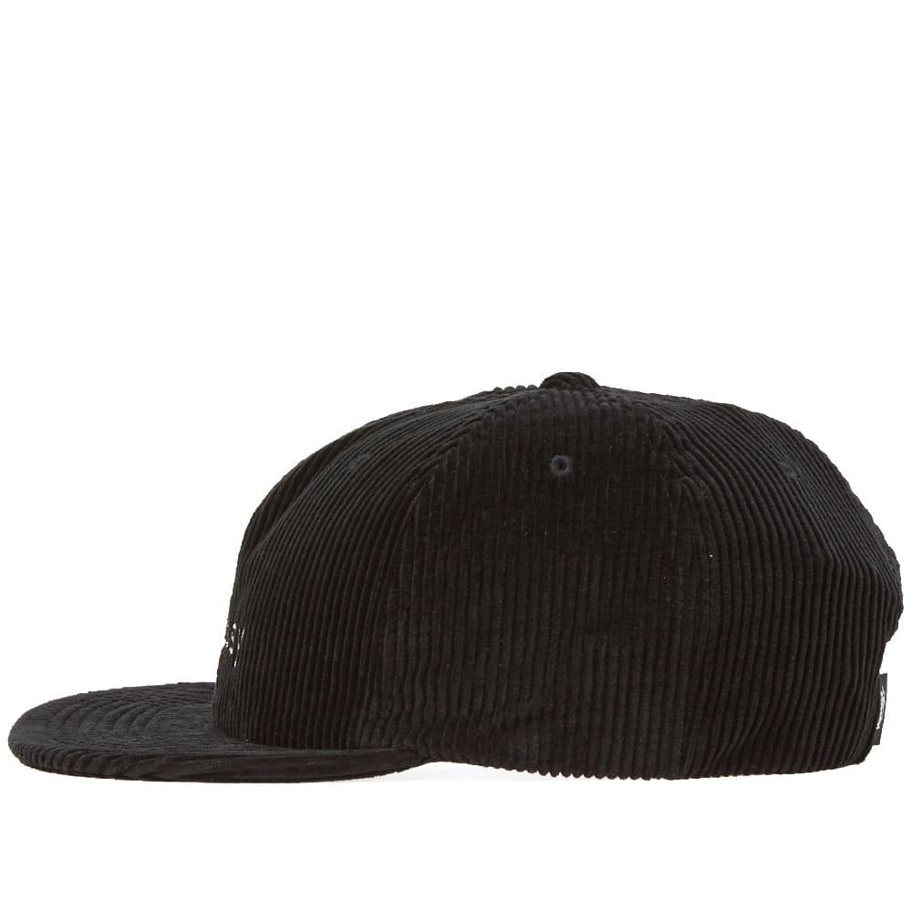 73fb074cbff Stussy Cord Strapback Cap Black