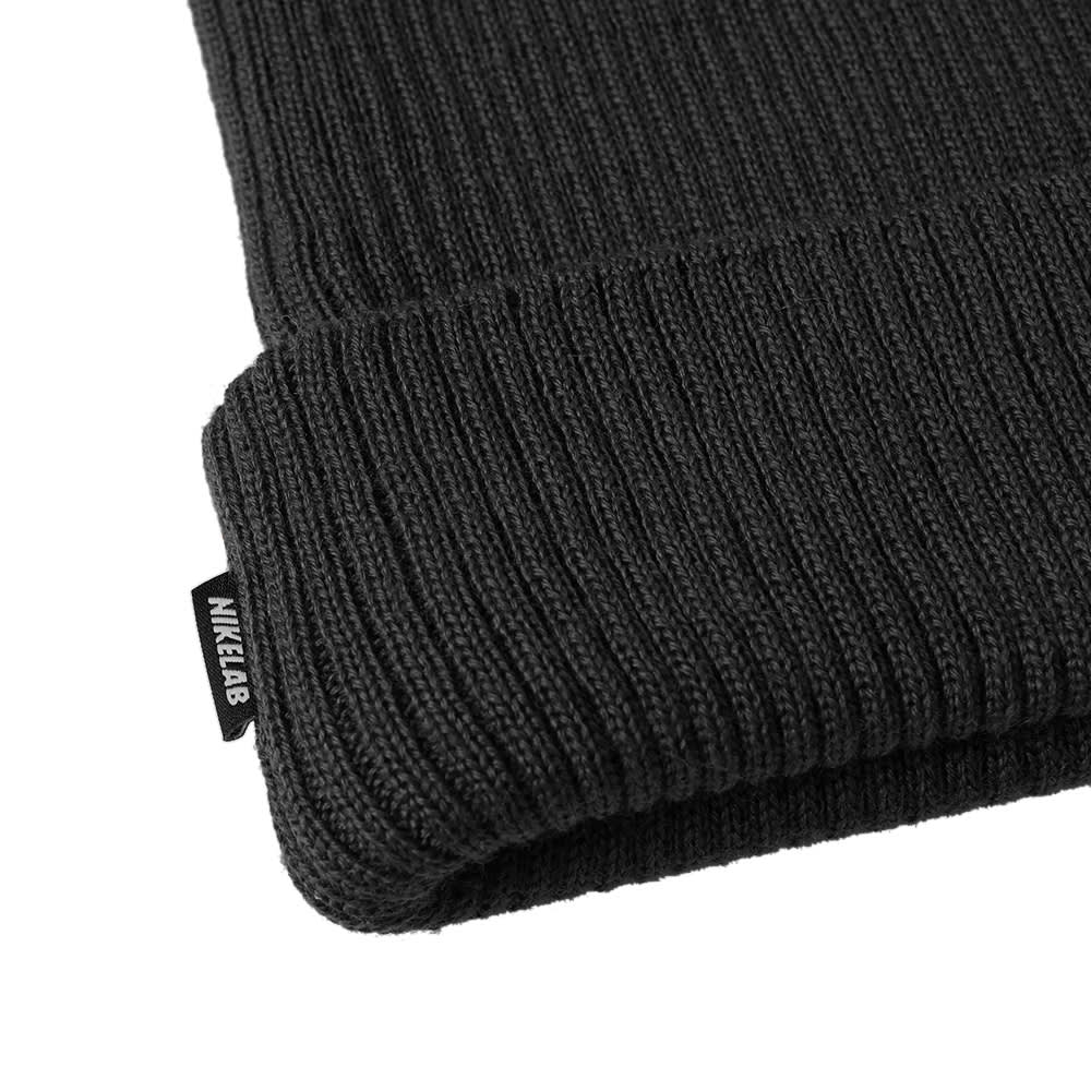 4ed71783e0361 NikeLab NRG Essentials Beanie Black   White