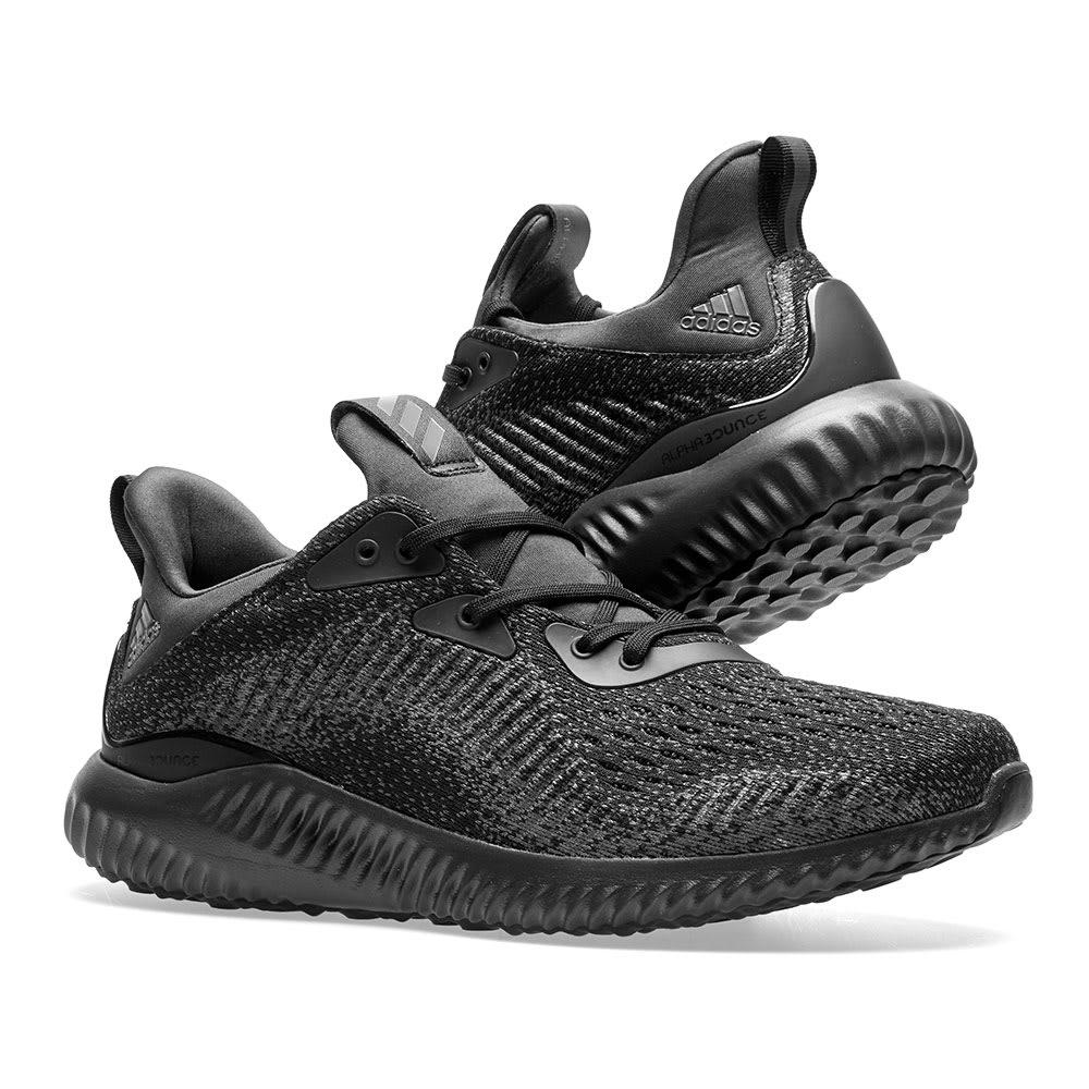 embotellamiento alguna cosa préstamo  Adidas Alphabounce EM Black, Night Met & Carbon | END.