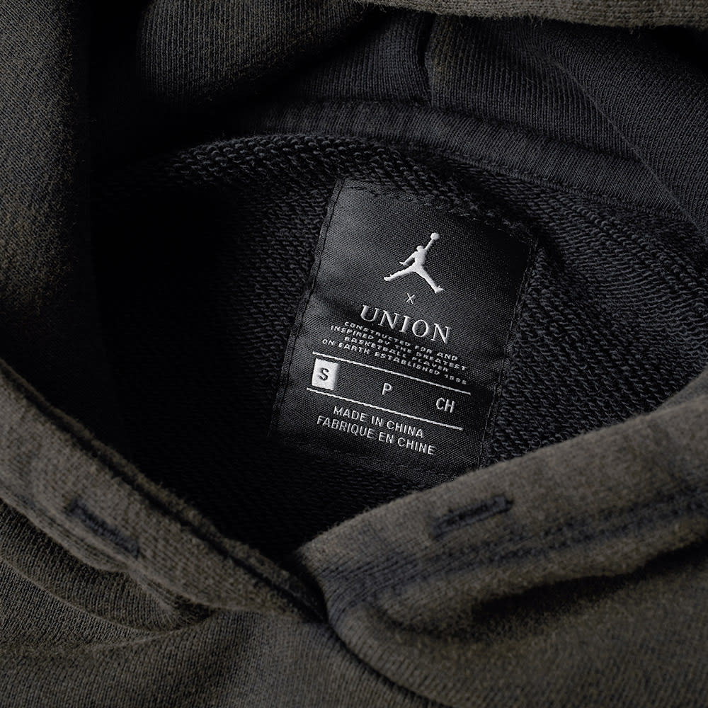 6cbb084ed5c0 Air Jordan x Union Vault Flight Hoody Black