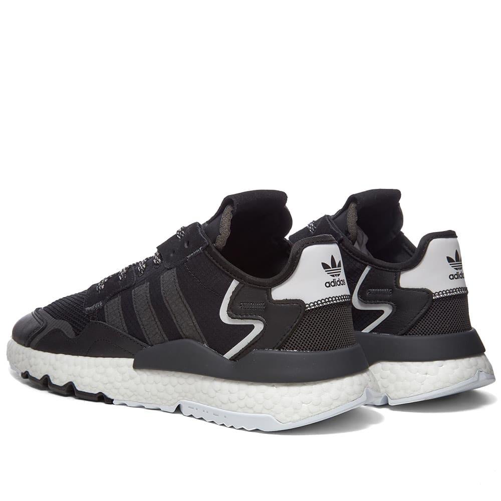 Adidas Nite Jogger Core Black \u0026 White