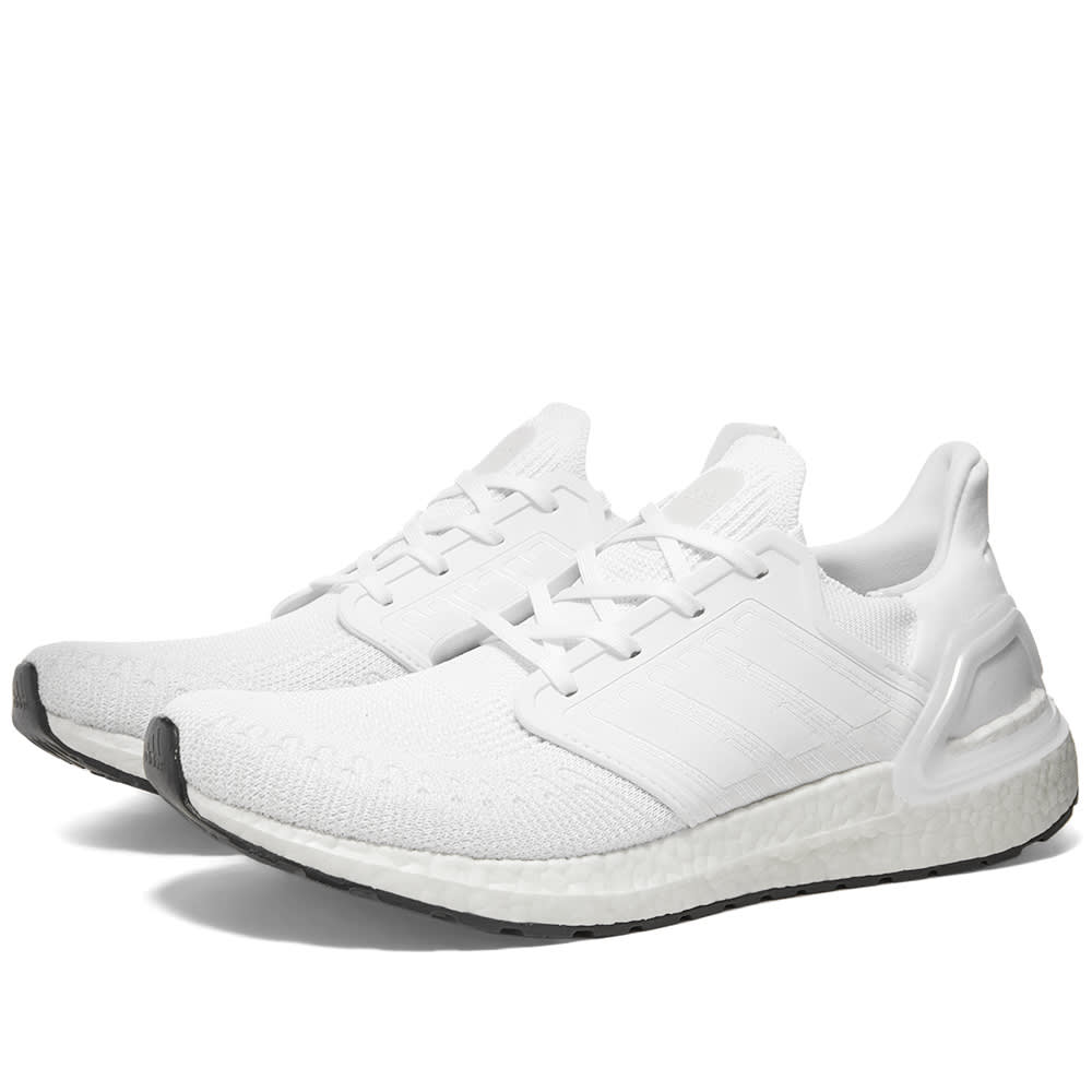 adidas Just Released The All White Ultra Boosts