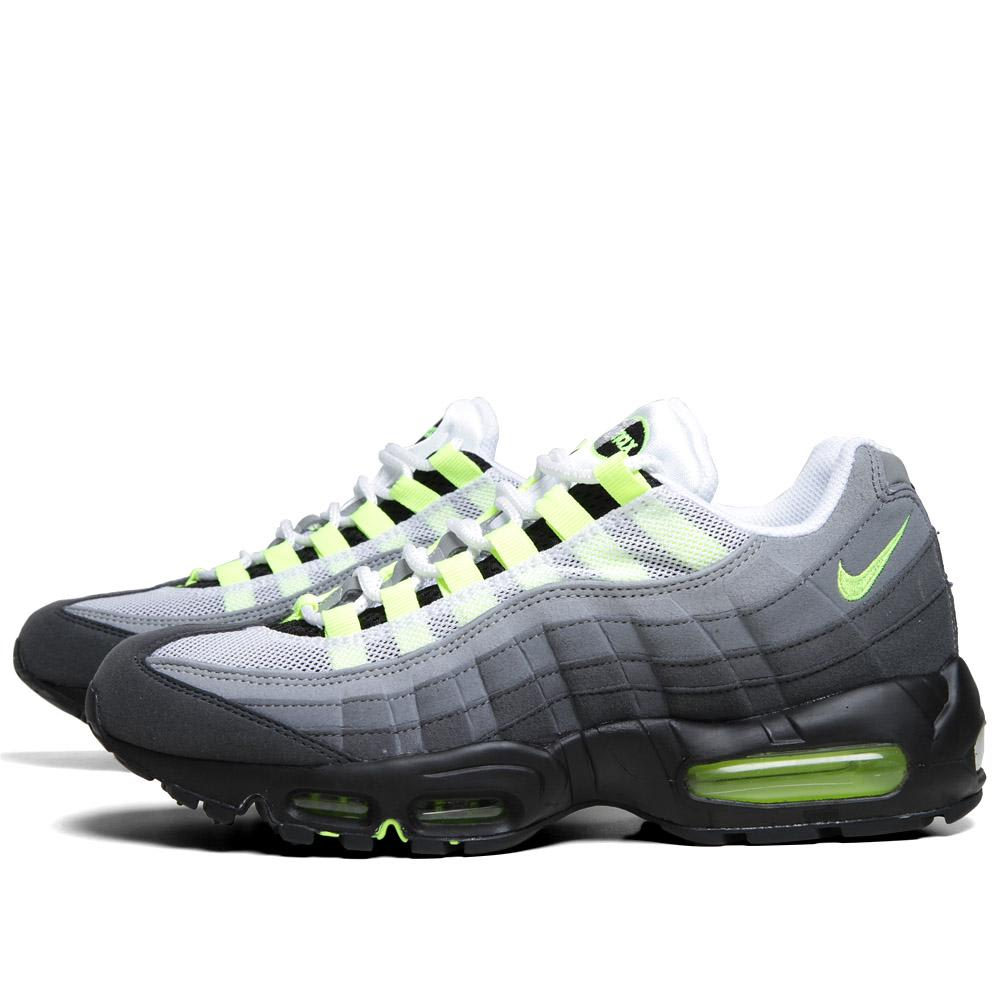 nike air max 39 95 og white neon yellow anthracit. Black Bedroom Furniture Sets. Home Design Ideas