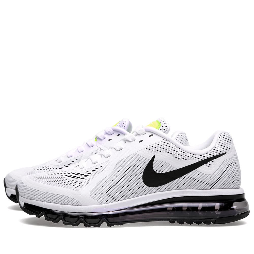 best sneakers 7f5c7 b53ac Nike Air Max 2014 White and Black   END.