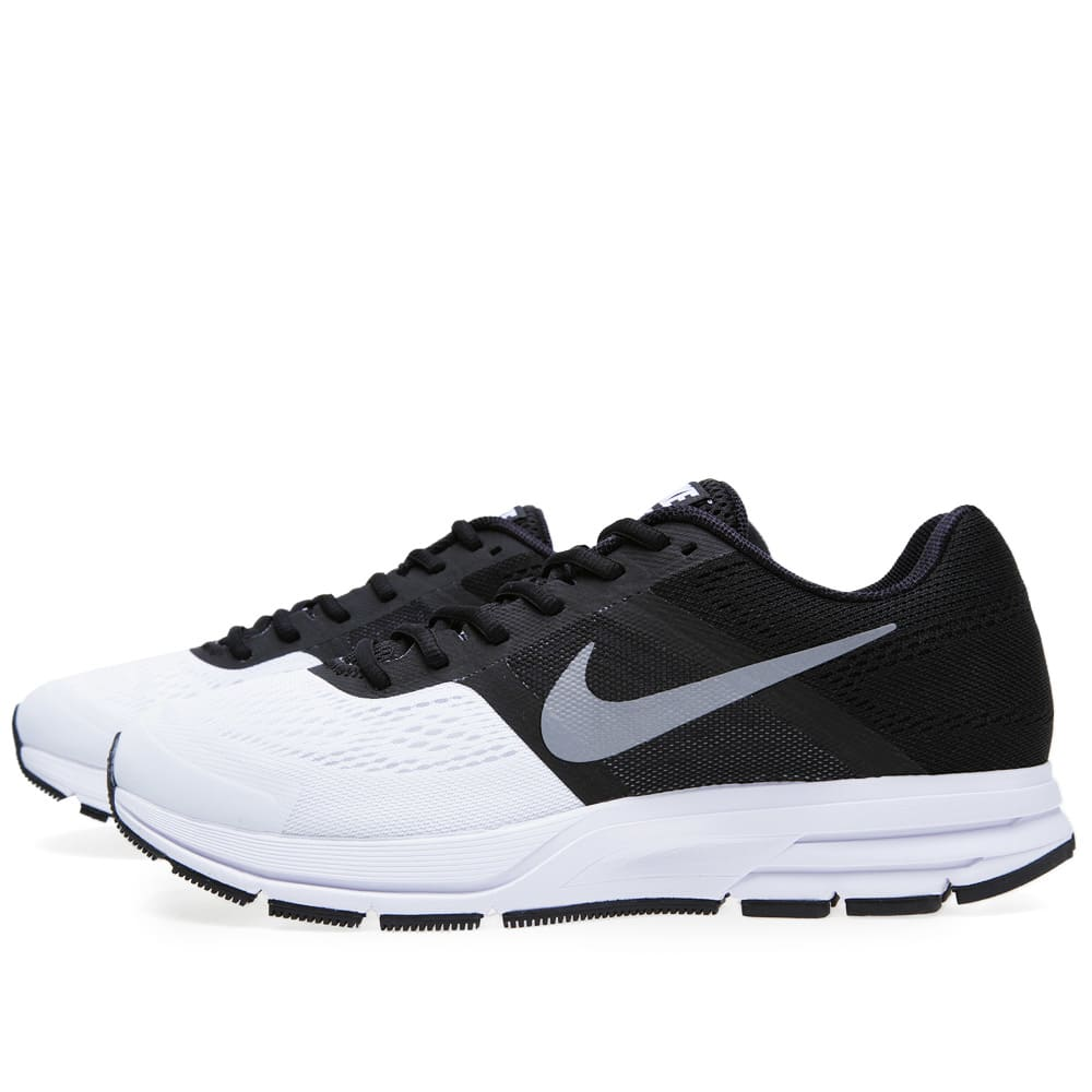 nike air pegasus 30 black and reflective silver. Black Bedroom Furniture Sets. Home Design Ideas