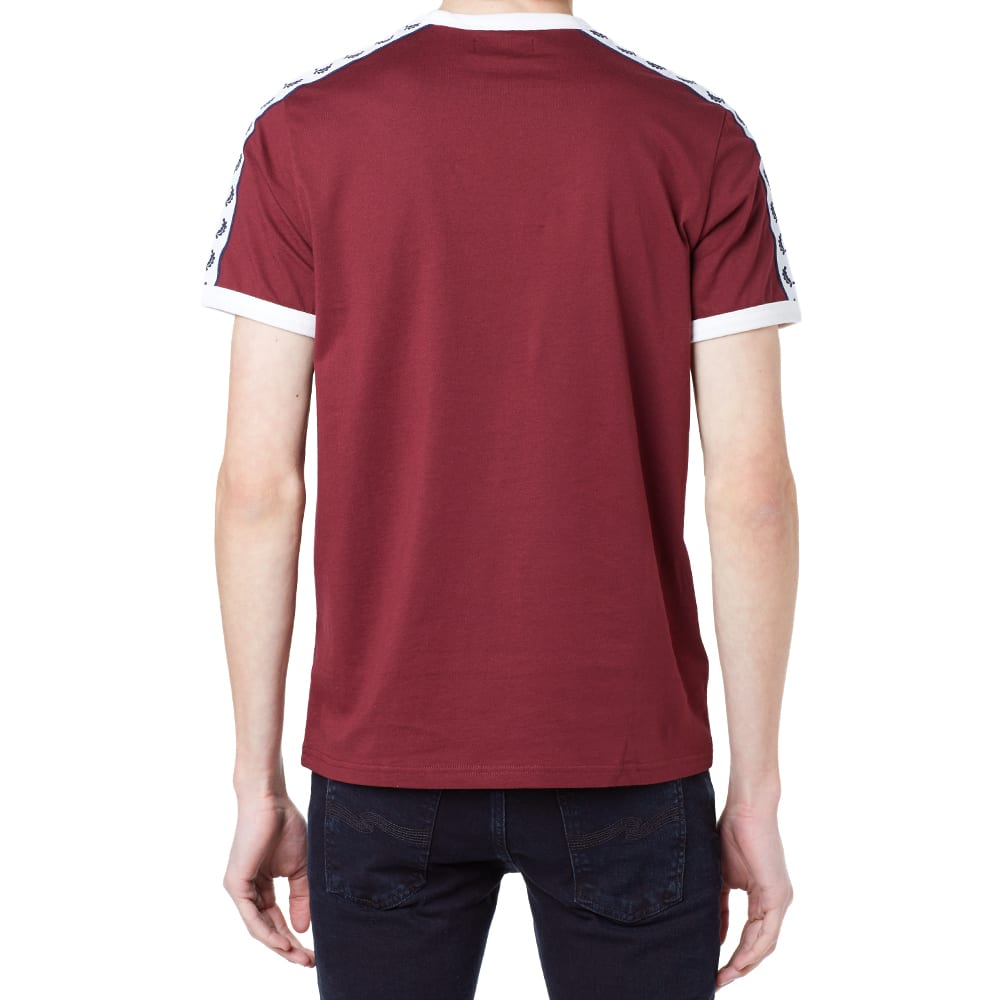 Clothes Ringer 2015 ~ Fred perry taped retro ringer tee port