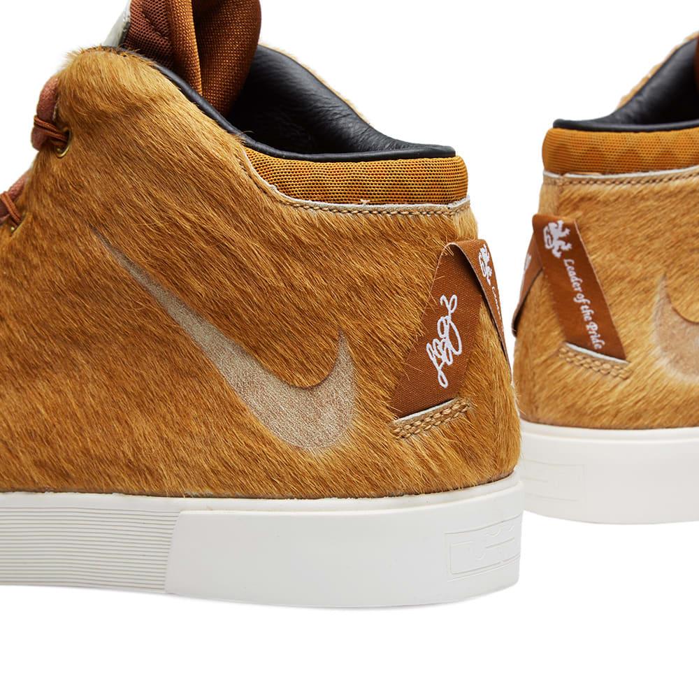 newest f2a27 5603d Nike LeBron XII NSW Lifestyle QS  Lion s Mane  Camel   Hazelnut   END.