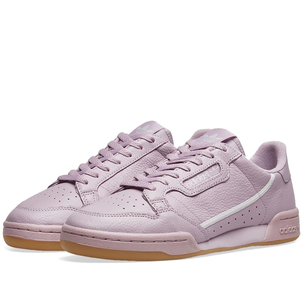 0329b9c6c14b Adidas Continental 80 W Soft Vision   Grey