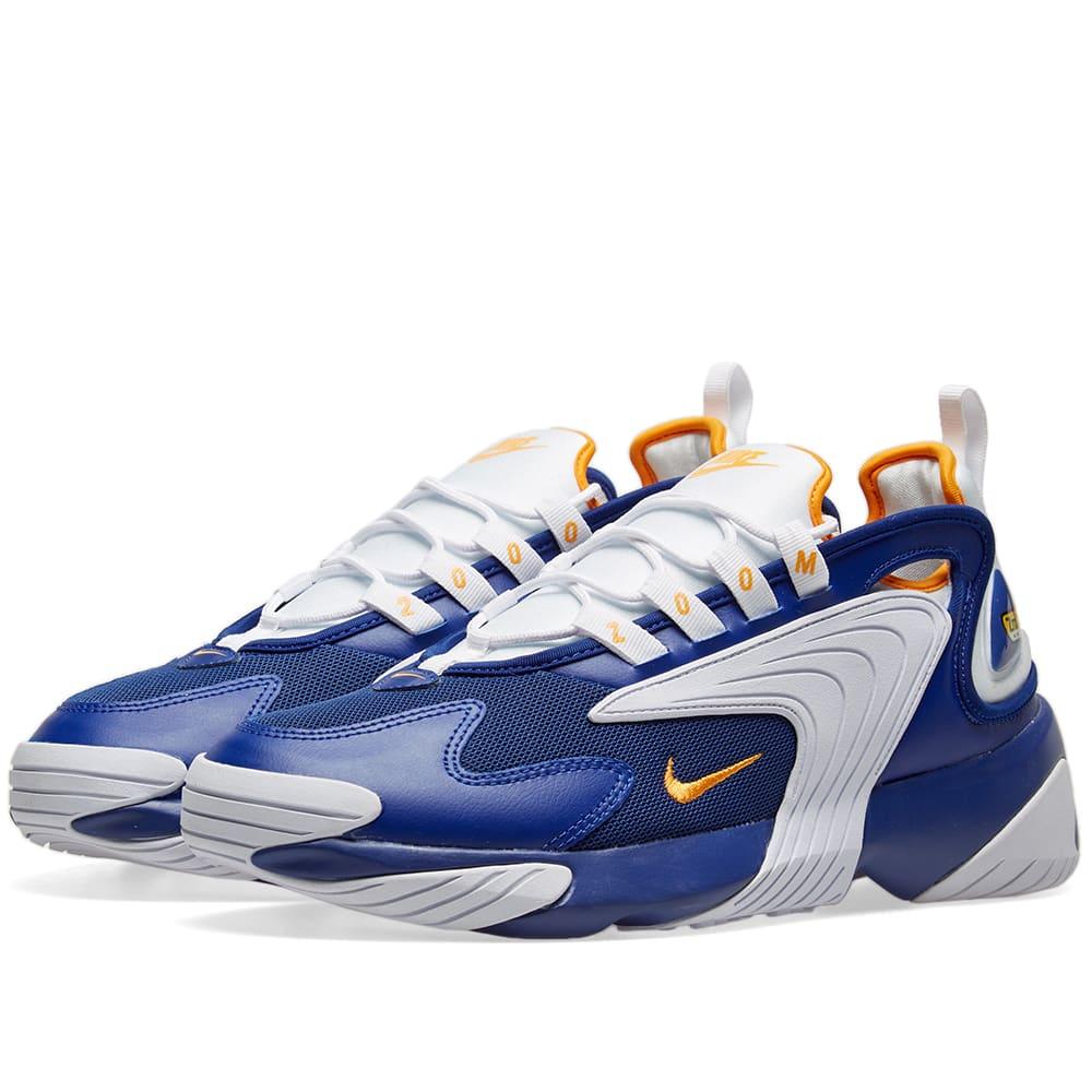 buy online cf77c fbd0e Nike Zoom 2K Deep Royal, Orange   White   END.