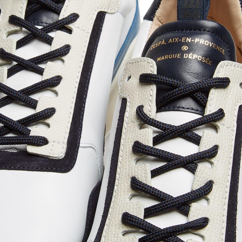 2d2127f3a96e Zespa ZSP7 Monochrome Mix Sneaker White   Navy