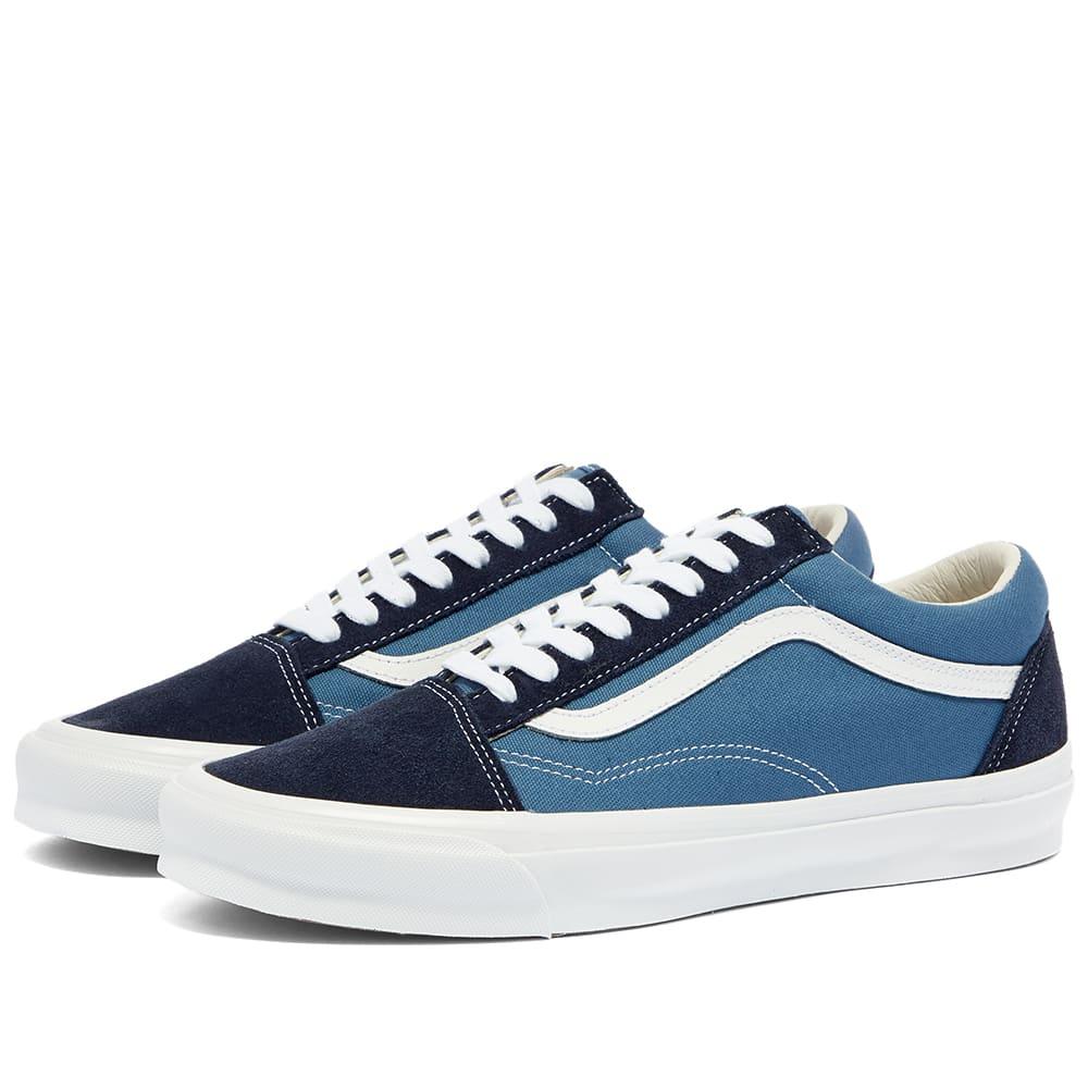 Vans Vault Old Skool LX Navy \u0026 Blue | END.
