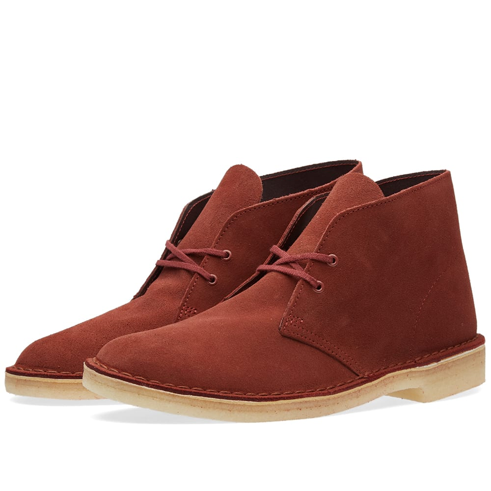 clarks originals desert boot terracotta suede. Black Bedroom Furniture Sets. Home Design Ideas
