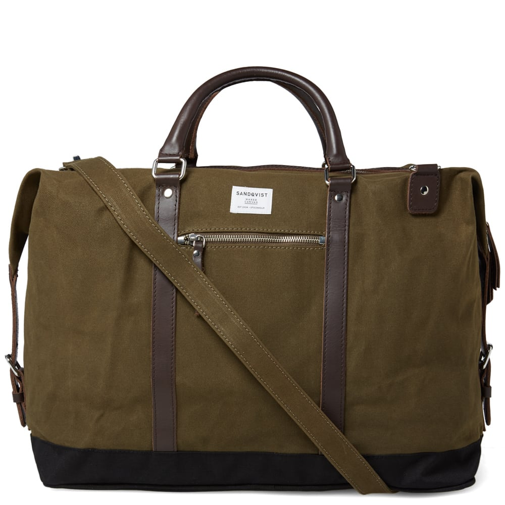 bead33c59fd0 Sandqvist Jordan Weekend Bag Olive