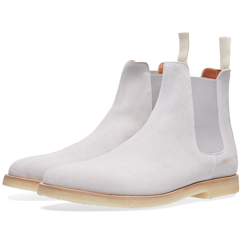 Common Projects Chelsea Boot Grey Suede