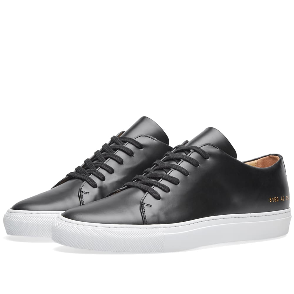 Common Projects Court Low Black   END.