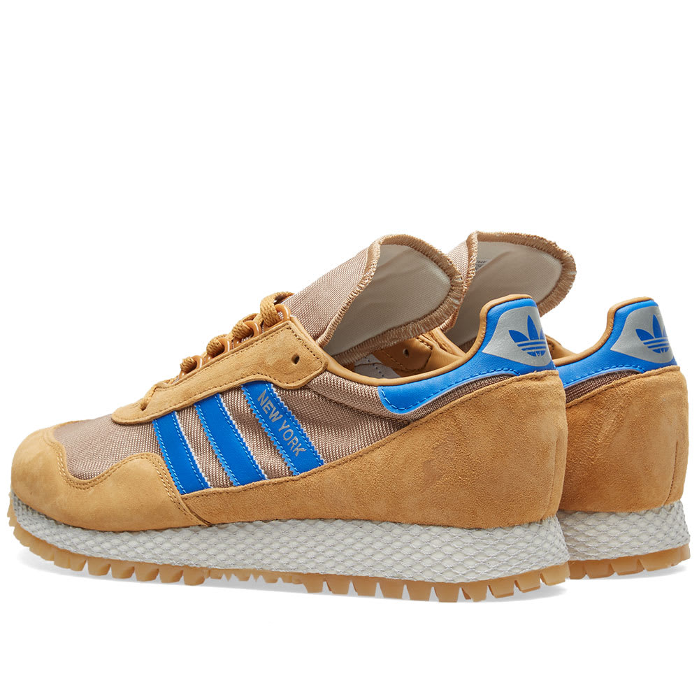 Adidas New York Shoes CQ2213 Lifestyle Brown