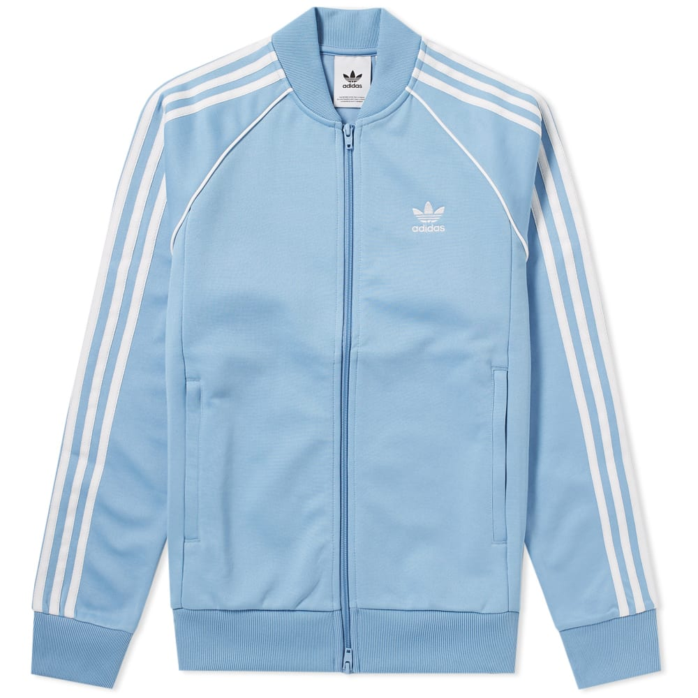 Adidas Superstar Track Top Ash Blue | END.