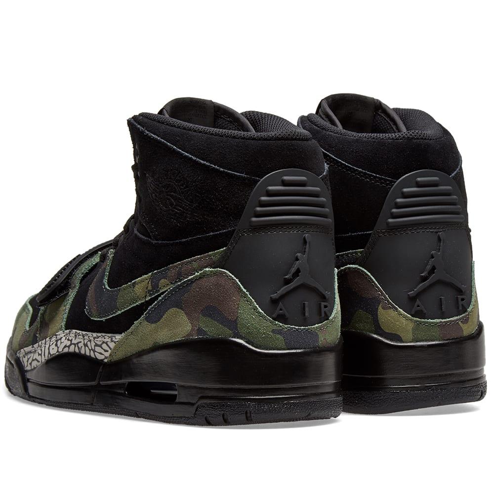 save off 20681 d5801 Air Jordan Legacy 312 Black, Camo Green   Volt   END.