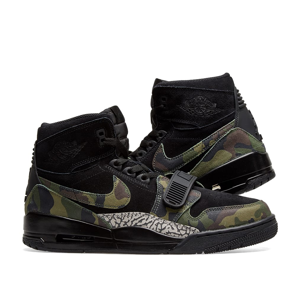 buy online 9eb9c 11cea Air Jordan Legacy 312. Black, Camo Green ...