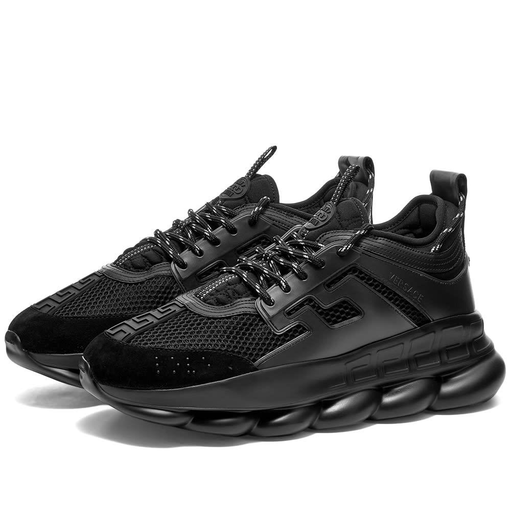 Versace Chain Reaction Sneaker Black | END.