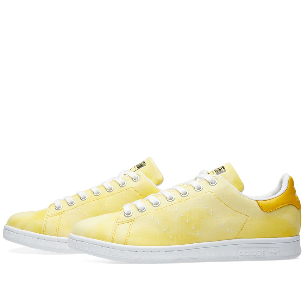 ddd8b021a Adidas x Pharrell Williams Hu Holi Stan Smith White   Yellow