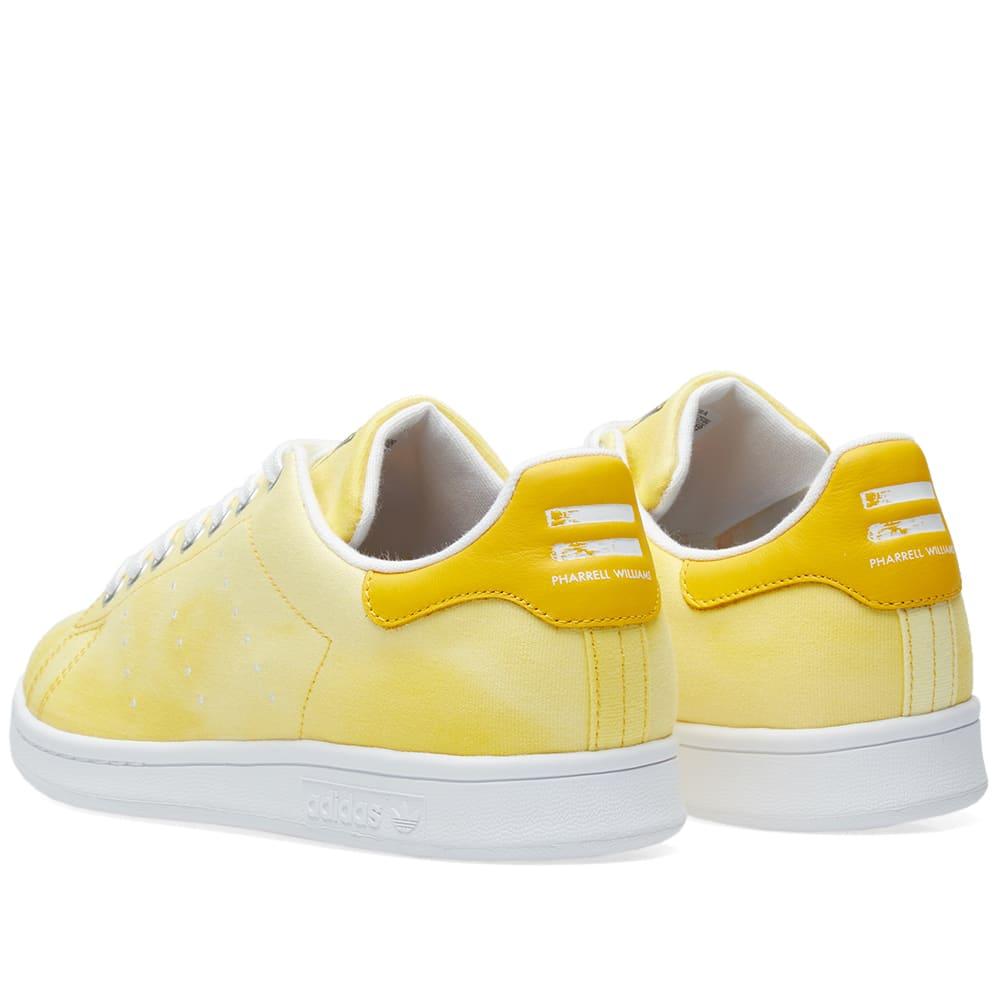 f720274bdace9 Adidas x Pharrell Williams Hu Holi Stan Smith White   Yellow