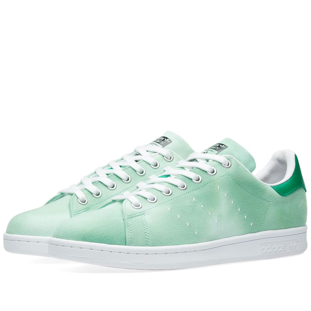 62d46b5e57c9f Adidas x Pharrell Williams Hu Holi Stan Smith White   Green