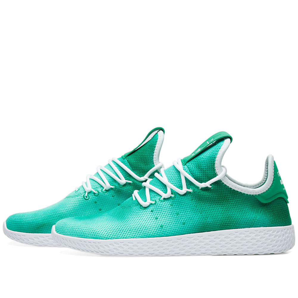 f71bd06d1e620 Adidas x Pharrell Williams Hu Holi Tennis Green   White