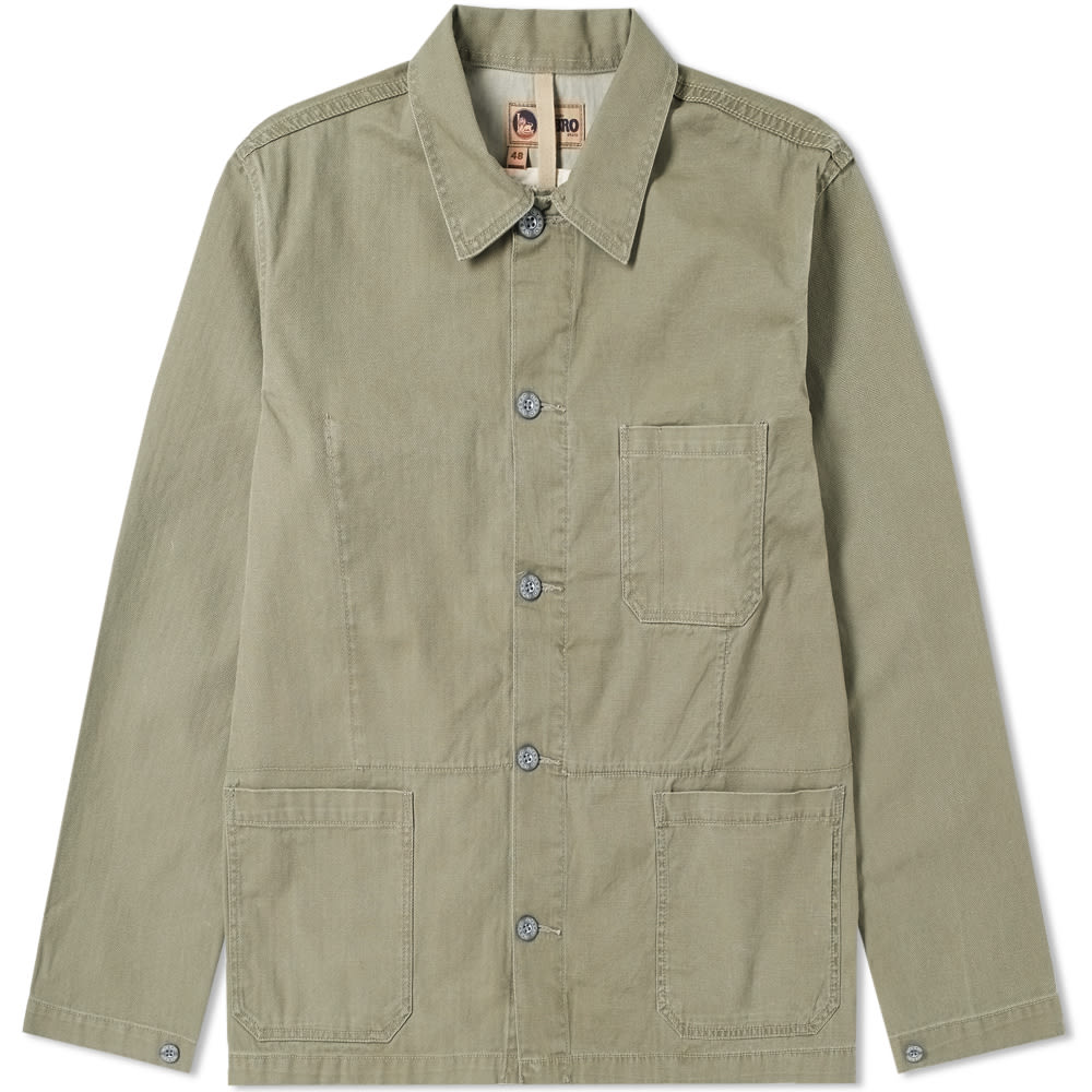 NIGEL CABOURN X LYBRO MIXED FIELD JACKET
