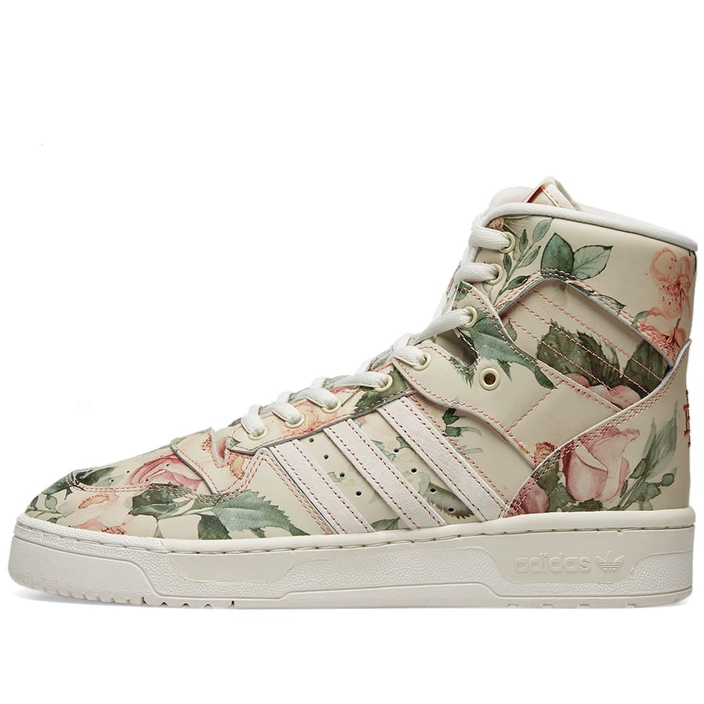 best cheap 38783 2bcde Adidas x Eric Emanuel Rivalry Hi OG Floral   END.
