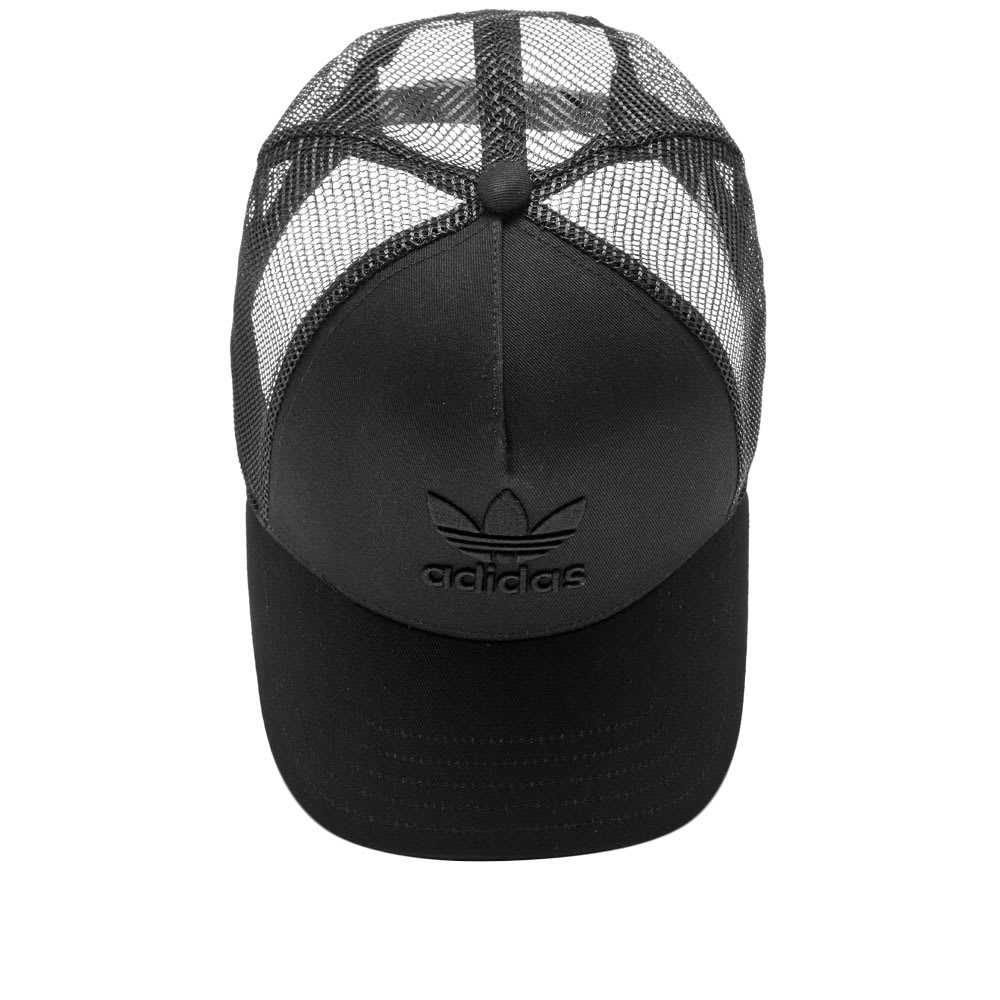 1fc9e5a6 Adidas Trefoil Trucker Cap Black | END.