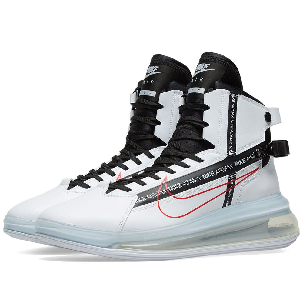 finest selection 9ab89 326cd Nike Air Max 720 Saturn White, Black   Red   END. nike air max