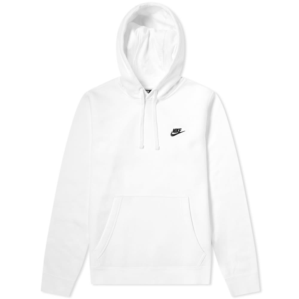 free shipping 3584f 8357a Nike Club Pullover Hoody