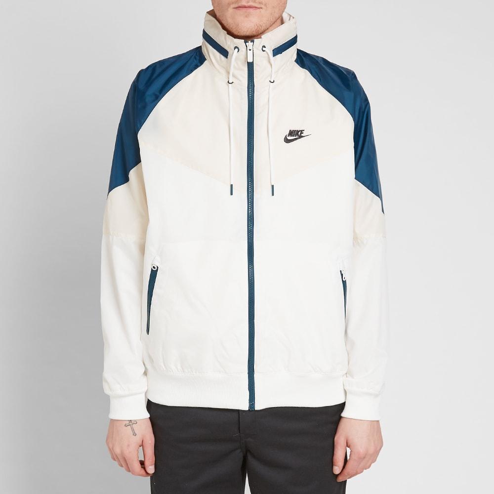 1dfc8794 Nike Heritage Windrunner Jacket Sail, Cream & Nightshade | END.