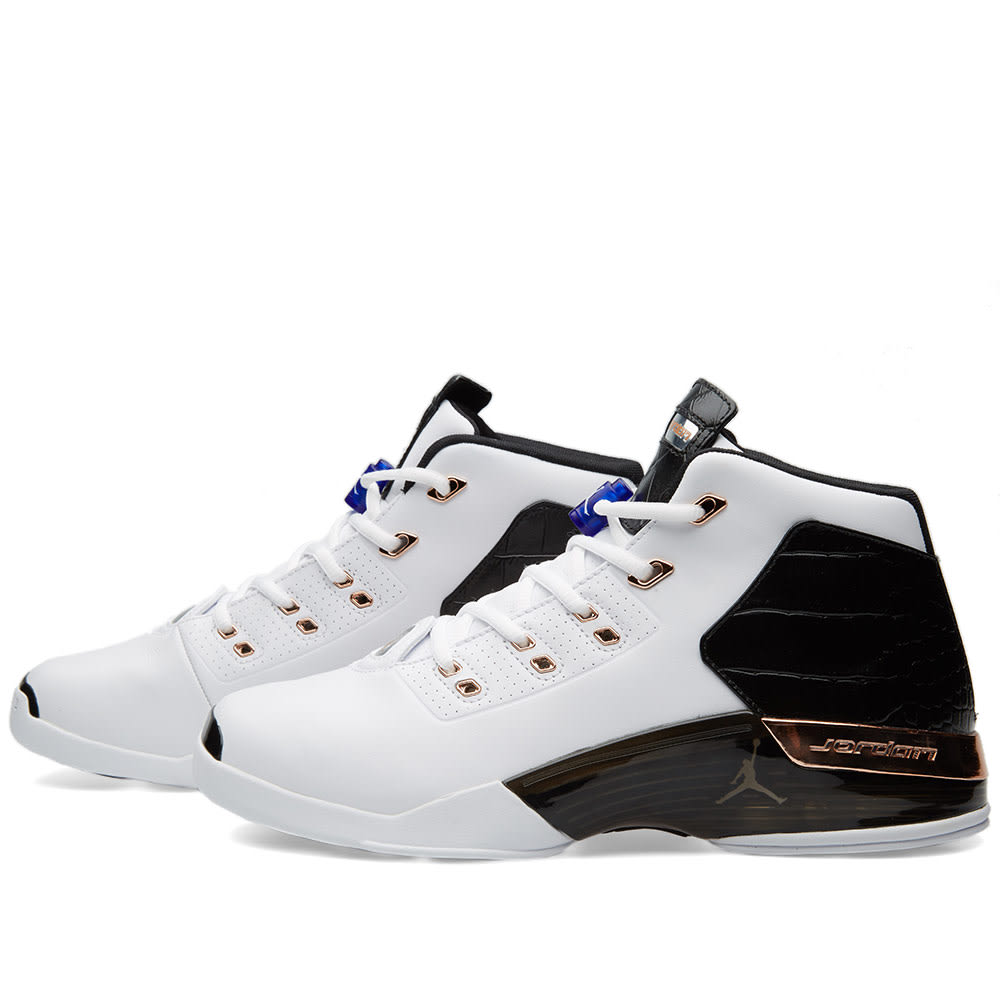 f632e5dceeb03c Nike Air Jordan 17+ Retro White   Metallic Capricorn
