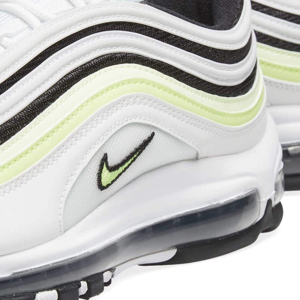 Nike Air Max 97 White Black Volt Where To Buy AQ4126