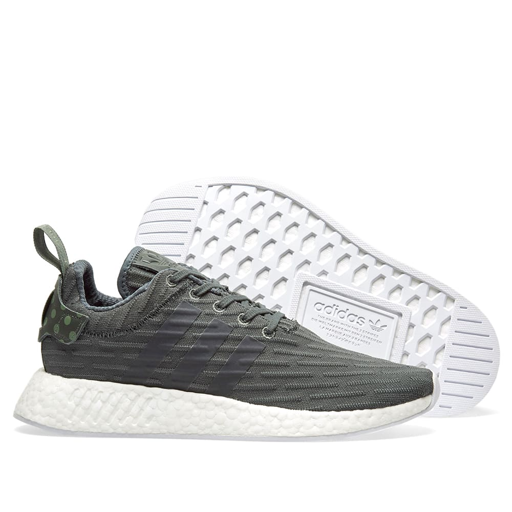 20064a57ce481 Adidas Women s NMD R2 W Utility Ivy   Trace Green