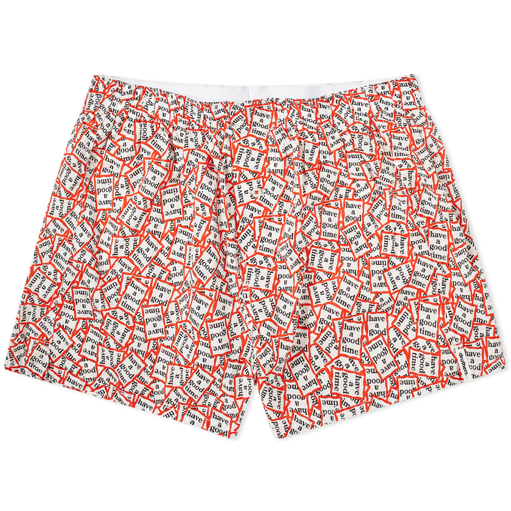 DRUTHERS | Druthers X Have A Good Time Boxer Short Multi | Goxip