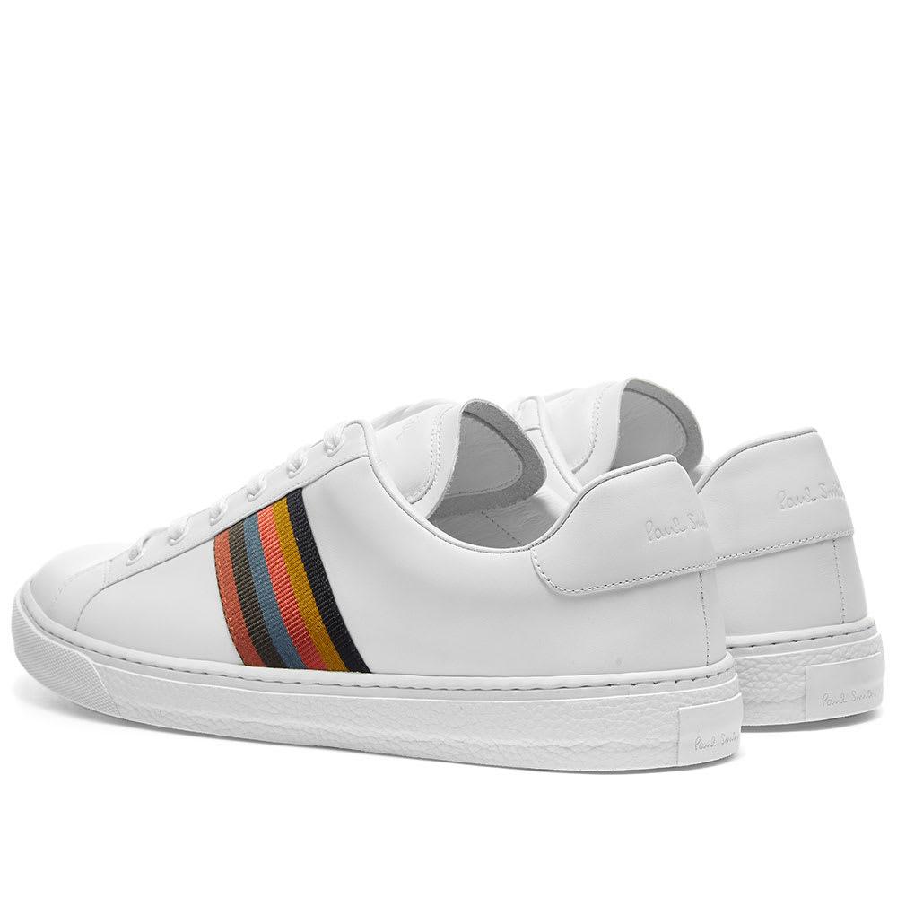 online retailer greatvarieties new cheap Paul Smith Hansen Grosgrain Stripe Tennis Sneaker