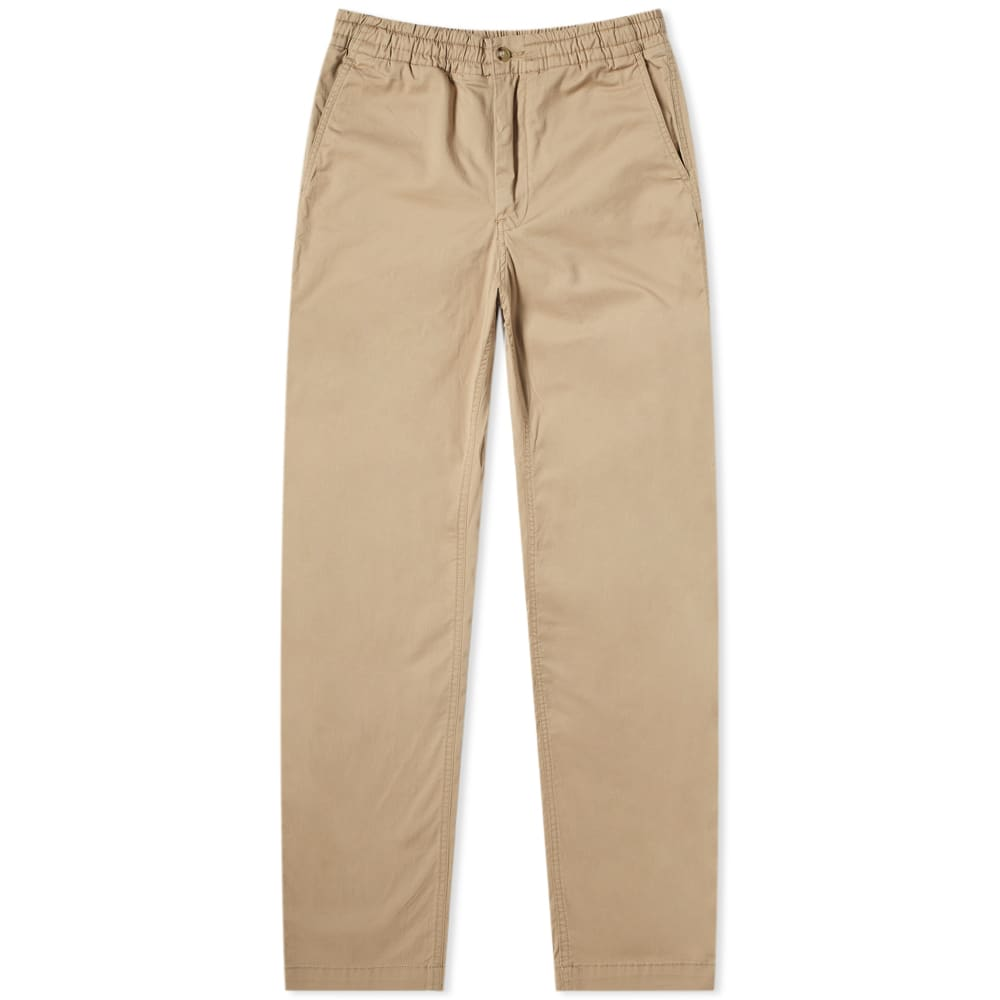 Polo Ralph Lauren Elasticated Waist Relaxed Pant In Brown