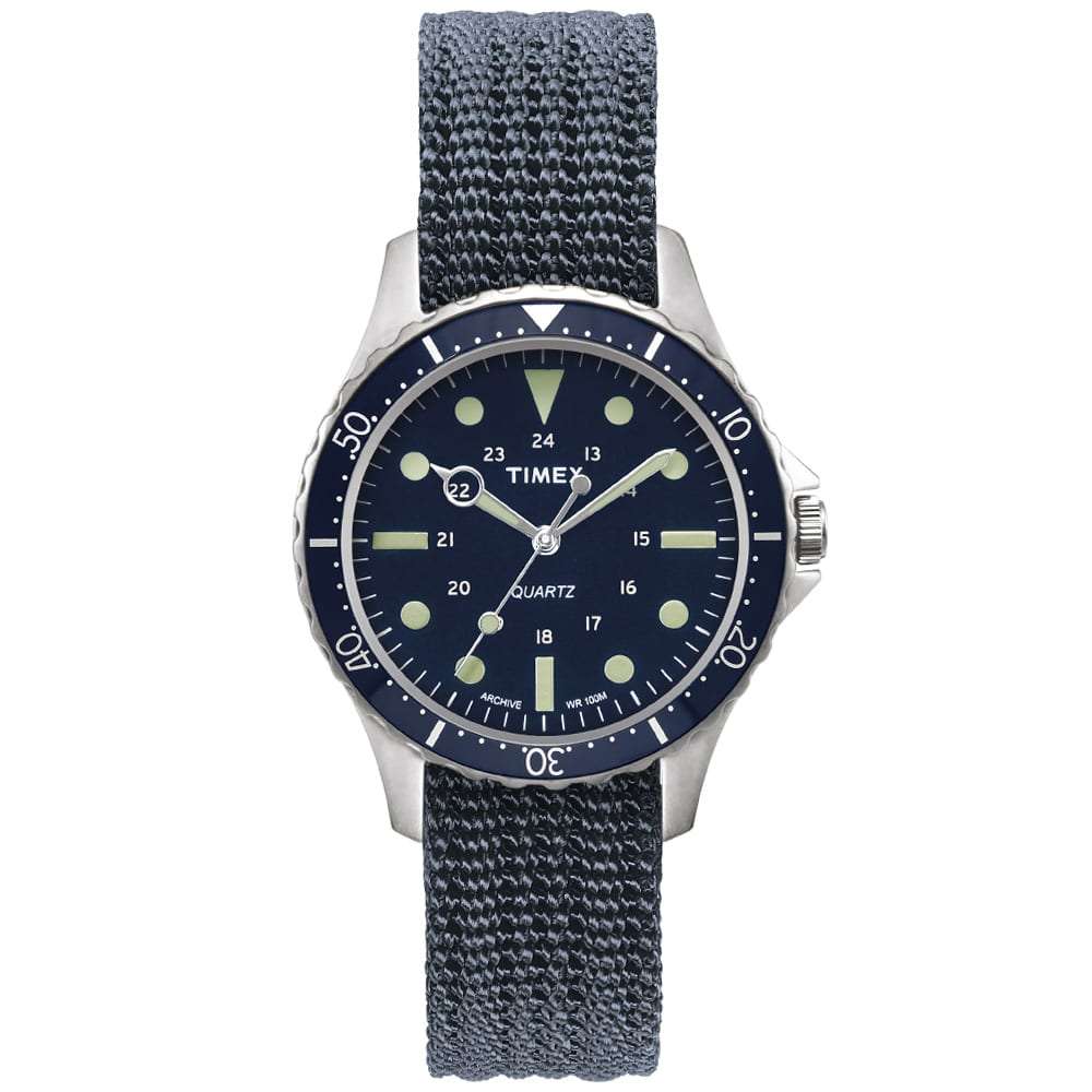 Timex Archive Navi Harbour Watch In Blue