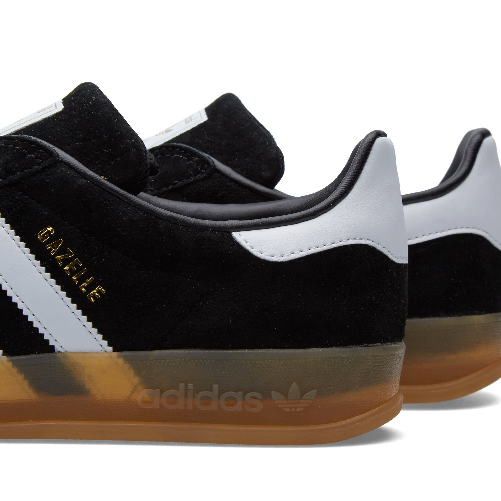 adidas indoor gazelle black
