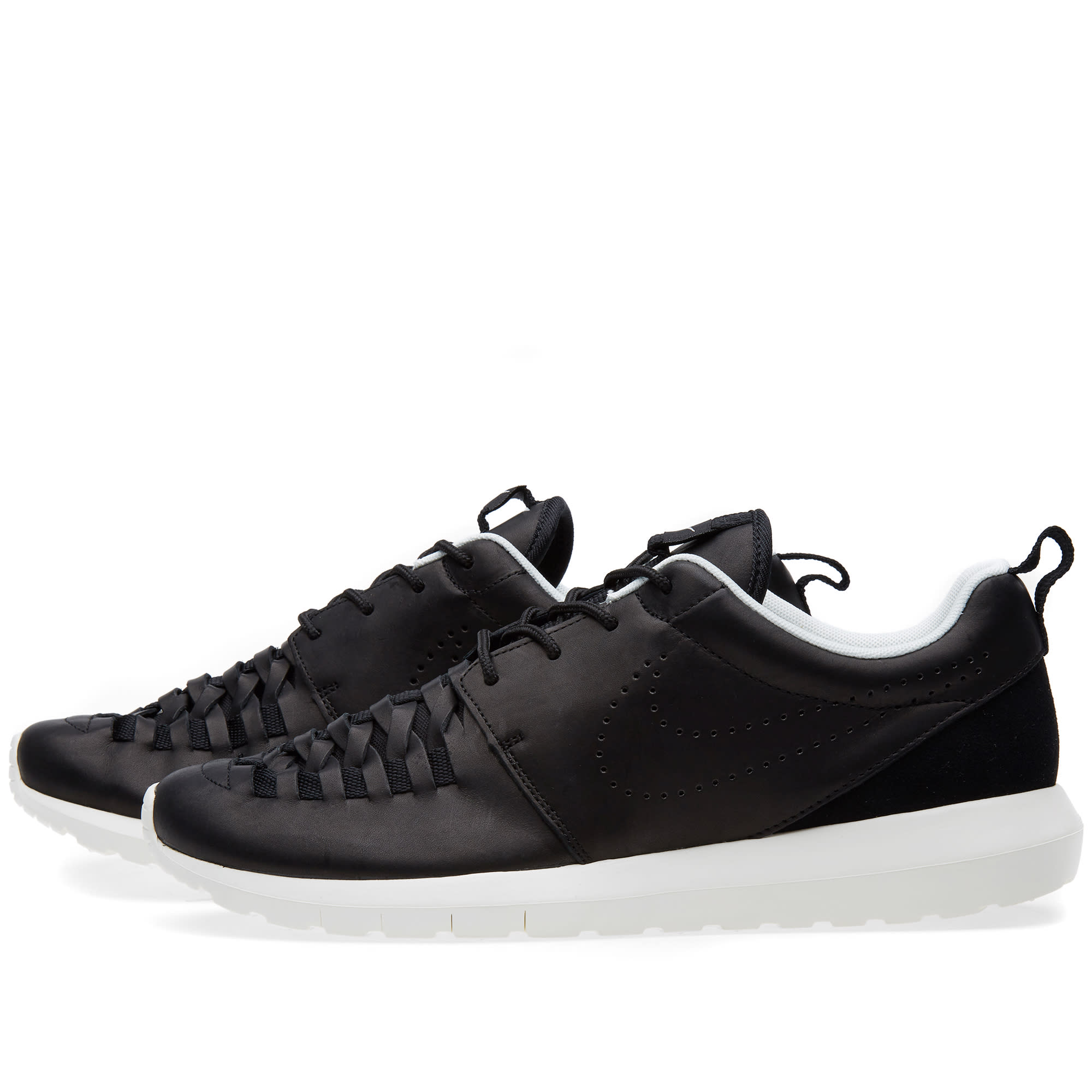 5a65b5a245377 Nike Roshe Run NM Woven Black   Sail