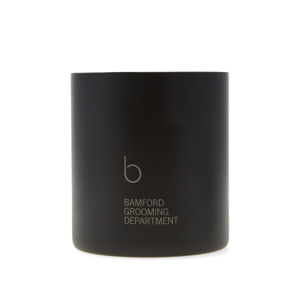 BAMFORD GROOMING DEPARTMENT Bamford Grooming Department Edition 1 Candle in Black