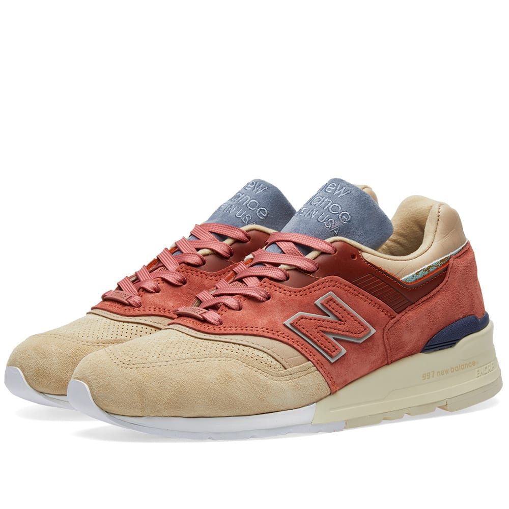 release date a92b5 3fa8e New Balance x Stance M997ST - Made in the USA Red   END.