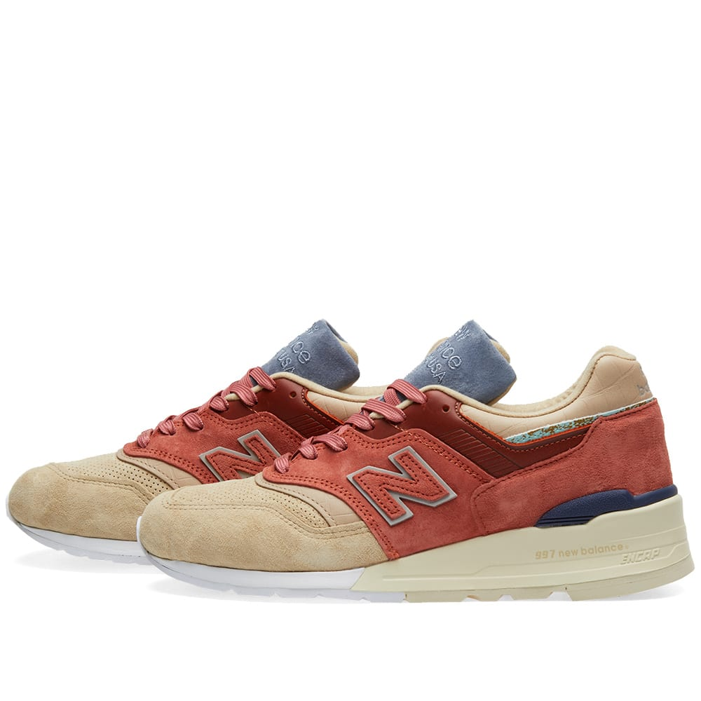 uk availability 62fec 597c1 New Balance x Stance M997ST - Made in the USA