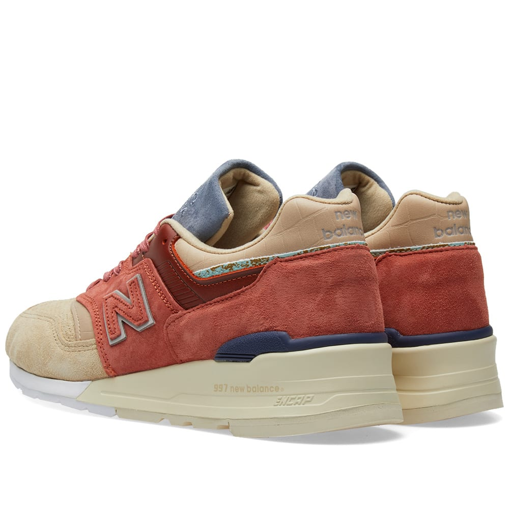 uk availability c6e76 b0b10 New Balance x Stance M997ST - Made in the USA