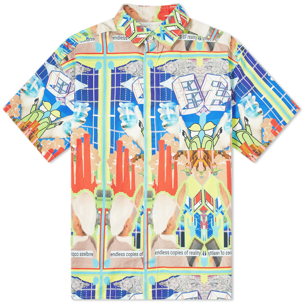 Cav Empt Short Sleeve Digital Print Shirt