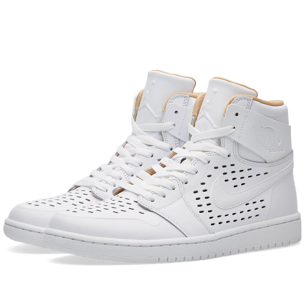 nike air jordan 1 retro high white vachetta tan. Black Bedroom Furniture Sets. Home Design Ideas